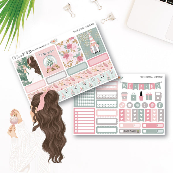 Mini Kit: 'Tis the Season-Planner Stickers by Mum and Me Handmade Designs - An Australian Online Stationery, Planner Stickers and Card Shop