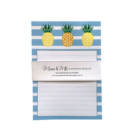 Pineapple Notepad A5