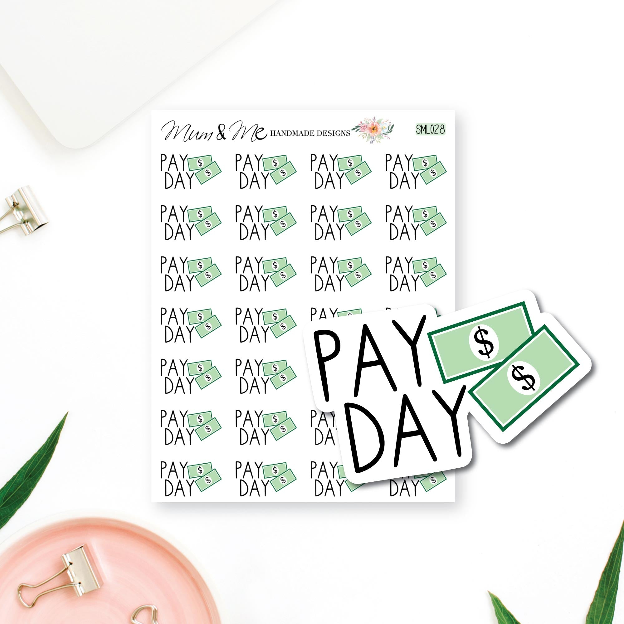 Stickers - Pay Day