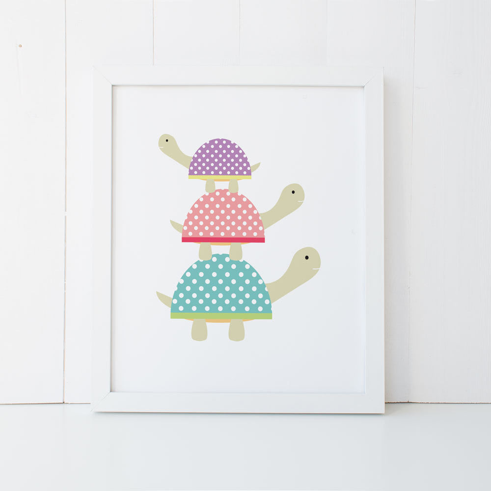Print - Turtles-mumandmehandmadedesigns