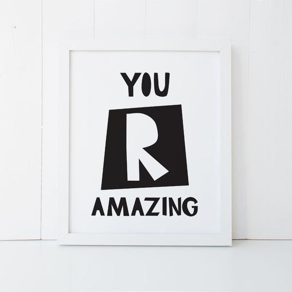 Print - You R Amazing-Mum and Me Handmade Designs