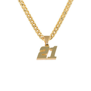 Number Pendant
