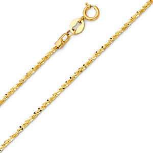 Gold Rollo Star Chain