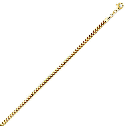 Gold Franco Solid 3.3mm
