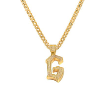 Diamond G Pendant