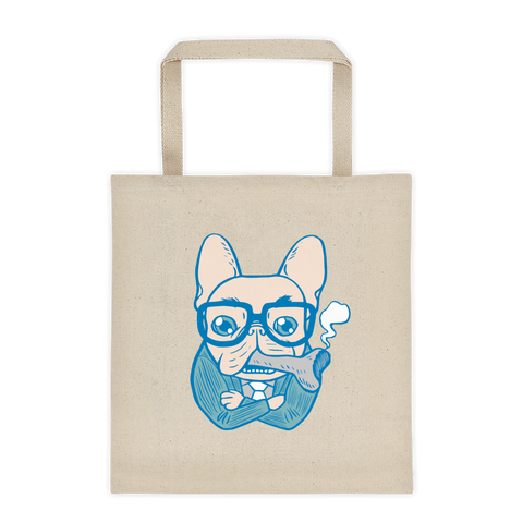 Bossy French Bulldog Daddy Tote bag by Emotional Frenchies