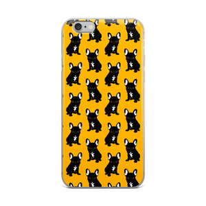 Brindle French Bulldog Puppy iPhone Case