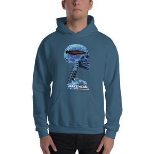SNAKE HEAD - Quality Hooded Sweatshirt (Sizes Small - 5XL & Multiple Colors Available)