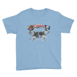 "Girls and Boys ""Chesapeake Bay Pride"" Youth Short Sleeve T-Shirt"