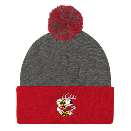 Maryland PRIDE- Quality Ball Knit Cap