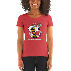 Ladies' Maryland Pride - Comfortable & Soft Tri-Blend  Short Sleeve T-shirt (Sizes Small - 2XL & Multiple Colors Available)