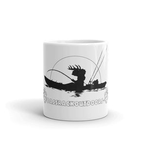 """Gone Fishin' "" Kayaking Mug"