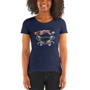 Ladies' Chesapeake Bay Pride - Comfortable & Soft Tri-Blend short sleeve t-shirt (Sizes Small-2XL & Multiple Colors Available)