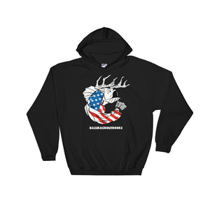 U.S.A. Pride  BassRack Quality Hooded Sweatshirt