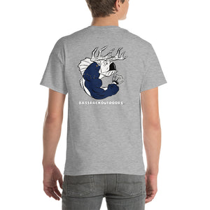 Alaska Pride - Comfortable, Back print Short Sleeve T-shirt (Sizes Small - 5XL & Multiple Colors Available)