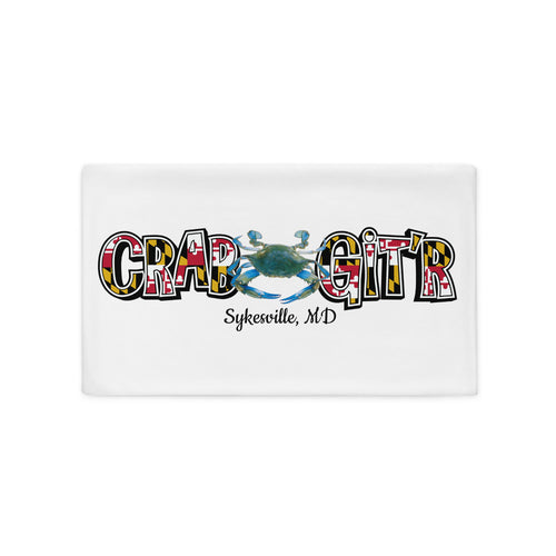 CRAB GIT'R - Soft & Comfortable Pillow Case (Comes in various sizes)