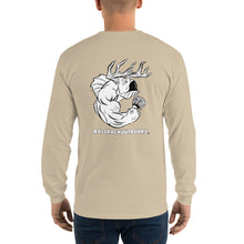 Classic BassRack - Comfortable, Back print Long Sleeve T-shirt  (Sizes Small - 5XL & Multiple Colors Available)