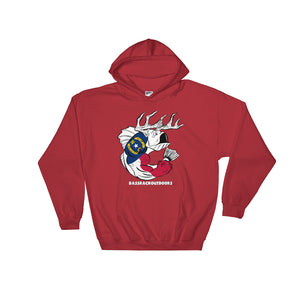 North Carolina Pride: Quality Hooded Sweatshirt