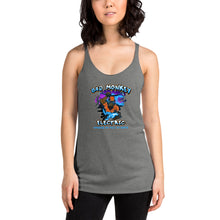 Bad Monkey Electric  - Comfortable & Soft  Women's Tri-Blend Racerback Tank  (Sizes Small - 2XL & Multiple Colors Available)