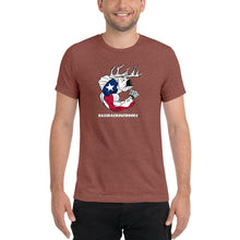 Texas Pride - Comfortable Tri-Blend Short Sleeve T-shirt (Sizes Small - 4XL & Multiple Colors Available)