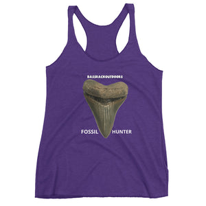 Fossil Hunter - Soft & Comfortable Women's Racerback Tank