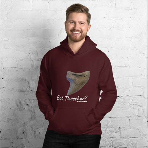Got Thresher? -  Comfortable Warm Hoodie (Sizes Small - 5XL & Multiple Colors Available)