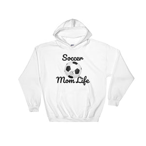 Soccer Mom - Quality, Cozy Hooded Sweatshirt (Sizes Small - 5XL & Multiple Colors Available)