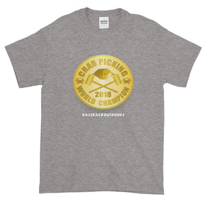 UNDISPUTED Crab Picking WORLD CHAMPION - 2018 Quality Short-Sleeve T-Shirt
