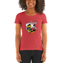 Calvert County, Maryland Pride -Women's cut Comfortable & Soft Tri-Blend Short Sleeve (Sizes Small - 2XL & Multiple Colors Available)