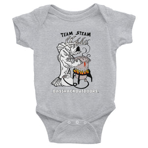 """Team Steam"" Infant onesie"