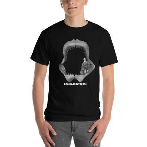 All Hail Megalodon! - Comfortable  Short Sleeve T-shirt (Sizes Small - 5XL & Multiple Colors Available)