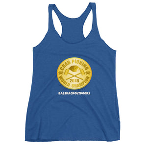 UNSTOPPABLE Crab Picking World Champion - 2018 Quality Women's Tank