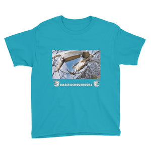 """Caught Not Bought"" Girls & Boys Youth Short Sleeve T-Shirt"