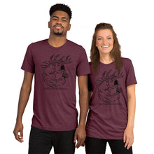 SILHOUETTE B.R.O. - Comfortable Tri-Blend Short Sleeve T-shirt (Sizes Small - 4XL & Multiple Colors Available)