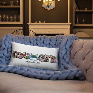 CRAB GIT'R - Couch , Chair and Bed Pillow ( Various sizes )