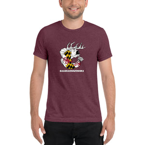 Maryland Pride - Comfortable Tri-Blend  Short Sleeve T-shirt (Sizes Small - 4XL & Multiple Colors Available)