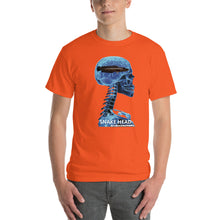 SNAKE HEAD - Comfortable  Short Sleeve T-shirt (Sizes Small - 5XL & Multiple Colors Available)