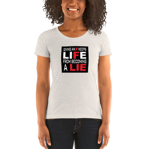 INSIGHT OUT - It's YOU, It's ME, It's EVERYBODY: Women's Cut Super Comfortable Tri-Blend Short Sleeve T-shirt (Sizes Small - 2XL & Multiple Colors Available)