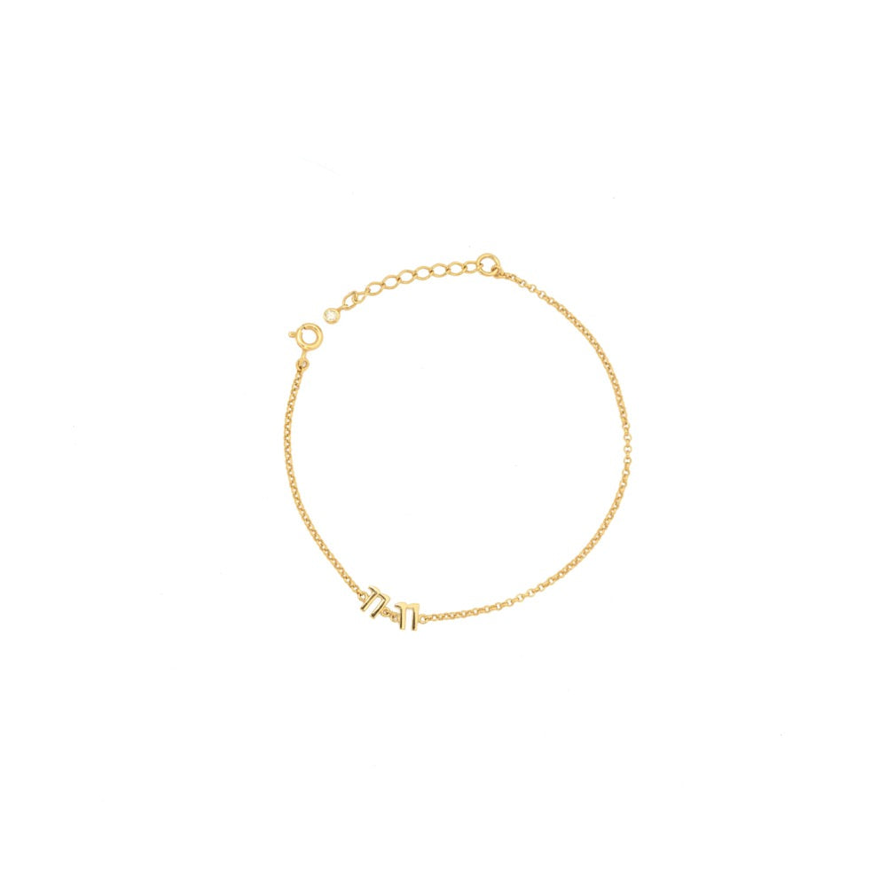 The 11:11 Bracelet - Gold - TheCrystalBoutique™