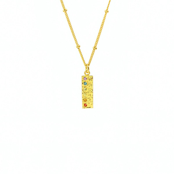 The LaLa Chakra Bar Necklace - TheCrystalBoutique™