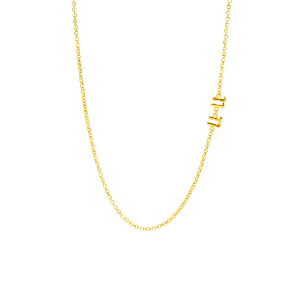 The 11:11 Choker Necklace - Gold - TheCrystalBoutique™
