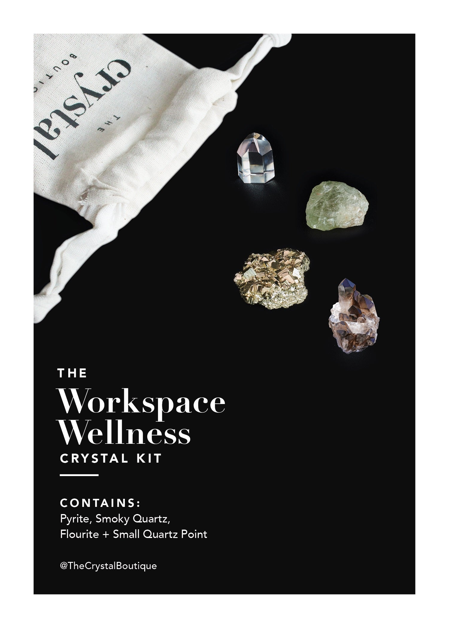 The Workspace Wellness Crystal Kit