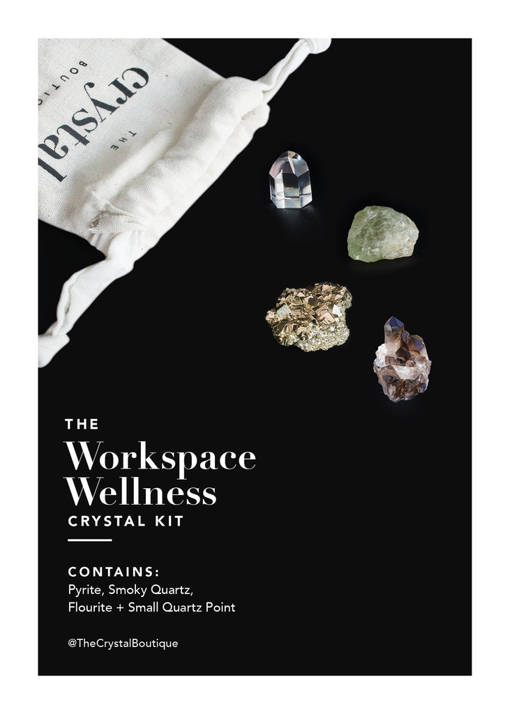 The Workspace Wellness Crystal Kit - TheCrystalBoutique™