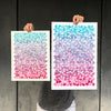 Awaken Geometric Watercolor Art Prints APS Gives Back