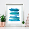 'Calm 2' Abstract Watercolor Art Print | APS Gives Back