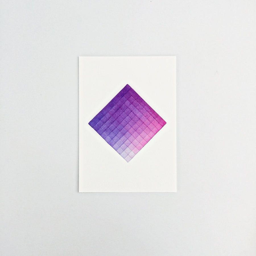 Day 92 Geometric Watercolor Art Print