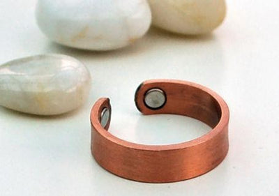 Elegant Magnetic Copper Ring