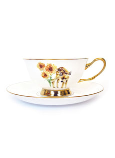 Golden Fawn Tea Cup & Saucer