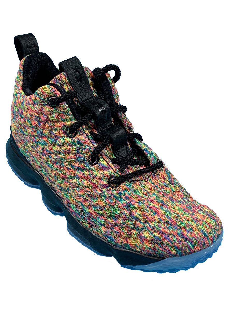 3a61f06fb57 ... Nike Lebron XV (PS) Youth sneakers 922812 901 Multiple sizes fruity  pebbles ...