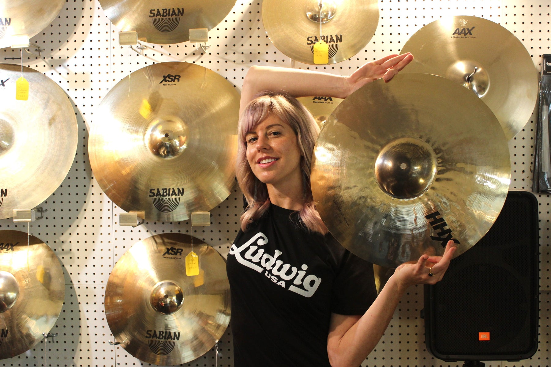 The Sabian HHX X-Plosion Crash Winner is...